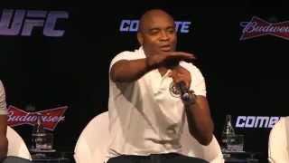 Anderson Silva Press Conference Highlights