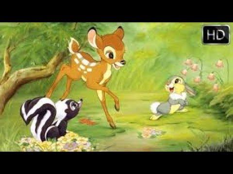 BamBi 1942 Pelicula En Español Latino   El Mejores momentos De Bambi HD