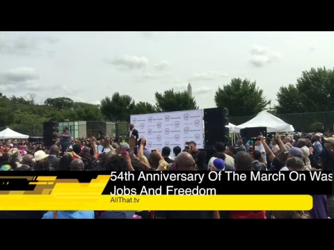 AllThat.tv: 54th anniversary of the March on Washington for Jobs & Freedom, Nat