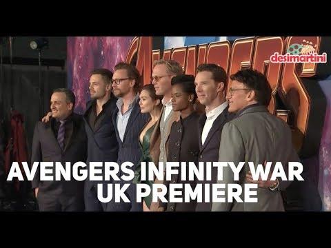 Avengers: Infinity War UK PREMIERE