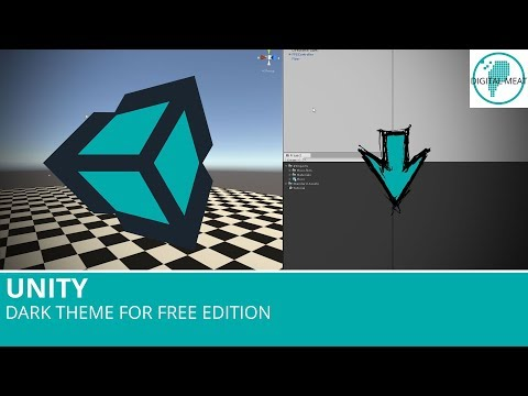 Unity: Dark Theme For Free Edition
