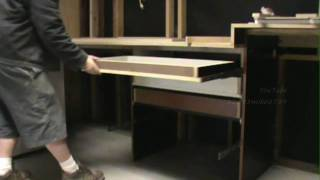 "Custom  Garage Work Shop ""work Station"" Cabinet Build And Installation  Part 1  Of 3 The Main Frame"
