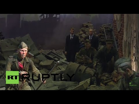 Russia: Putin visits 3D-recreation of Battle of Berlin