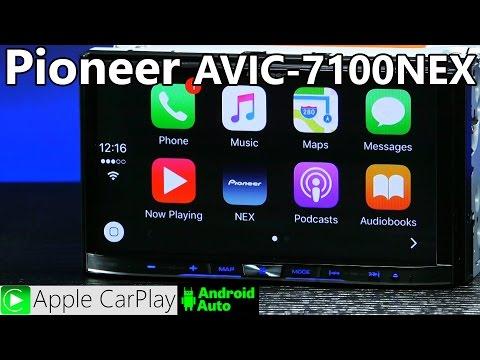 Pioneer AVIC-7100NEX - Apple CarPlay - Android Auto
