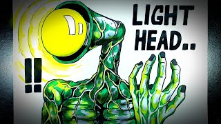 Download Asal Usul Monster Berkepala Lampu (LIGHT HEAD) || DRAWSTORY