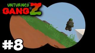 Unturned GangZ #8 - HORDE BEACON!