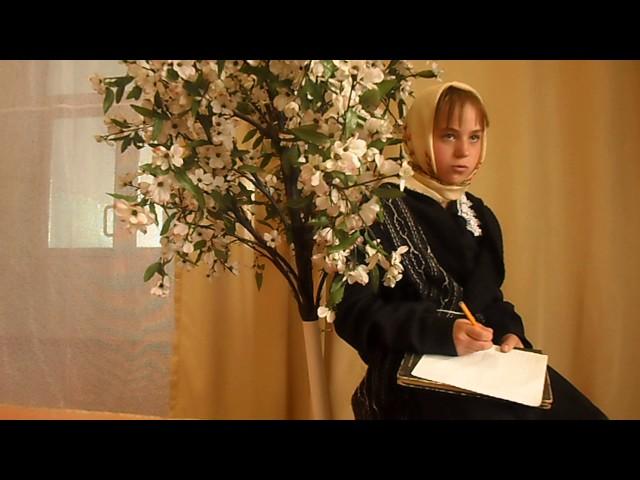 Изображение предпросмотра прочтения – АлинаЕрохина читает произведение «Папе на фронт» Е.А.Благининой