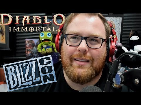 Blizzcon 2018 and Diablo Immortal - Some Thoughts