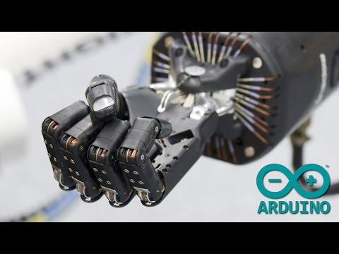 Animatronic Hand Control Using Data Glove