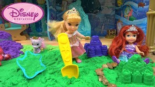 Princess Story: Under the Sea Sleepover with Little Princess Ariel and Aurora and their Palace Pets