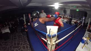 Ultra White Collar Boxing | Nottingham | Nick Webb VS Ellis Mekka