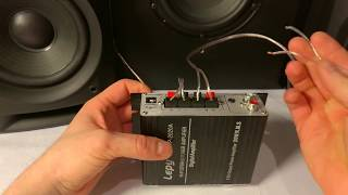 Lepy LP2020A subwoofer extreme bass 2.1 test