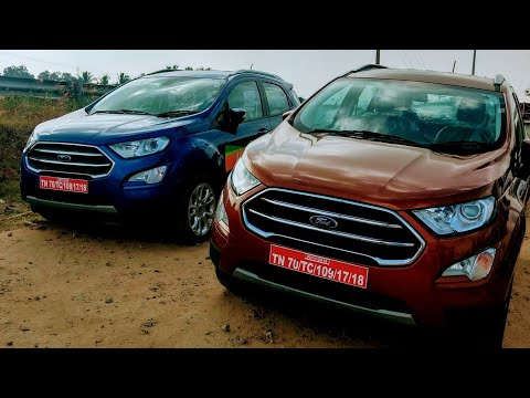 2018 New Ford EcoSport Canyon Ridge, Red, Grey, White, Silver, Blue and Black Colour Walkaround !!
