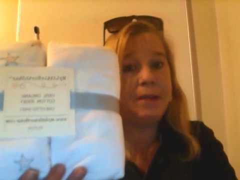 Organic Jersey Cotton Fitted Crib Sheets Ballerina Bedding Set