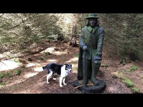 Stupid dog wants wooden statue to throw stick