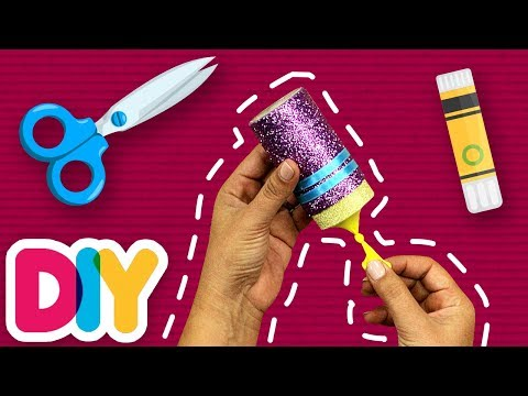 NEW YEAR POPPER 🎉 Paper Roll Craft | Fast-n-Easy | DIY Arts & Crafts for Parents