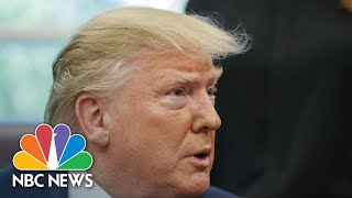 President Donald Trump 'Unhappy' That 'A Congresswoman Can Hate Our Country' | NBC News
