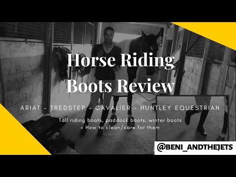 Horse Riding Boots - Ariat vs Tredstep vs some cheap thing.