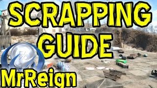 FALLOUT 4 - Resource Scrapping Guide - Resource & Item Lists