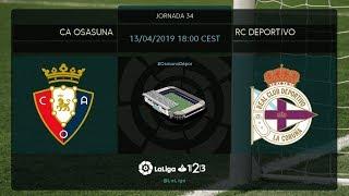 C.A. Osasuna - RC Deportivo MD34 S1800