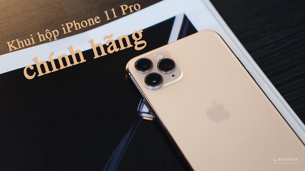 [Khui hộp] iPhone 11 Pro – Chiếc iPhone mạnh mẽ và vừa tay nhất của Apple