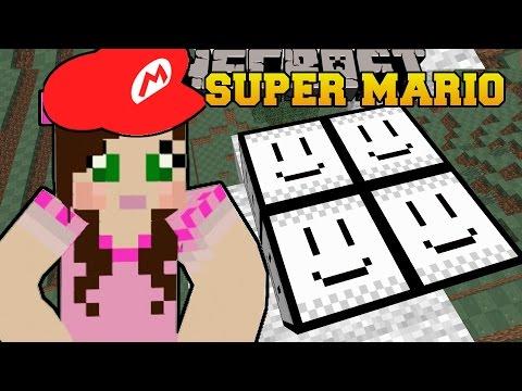 Minecraft: MISSION TO SAVE THE PRINCESS! - SUPER MARIO BROS - Custom Map