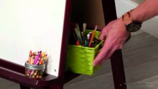 Classic Playtime Junior Easel - Espresso - Product Review Video