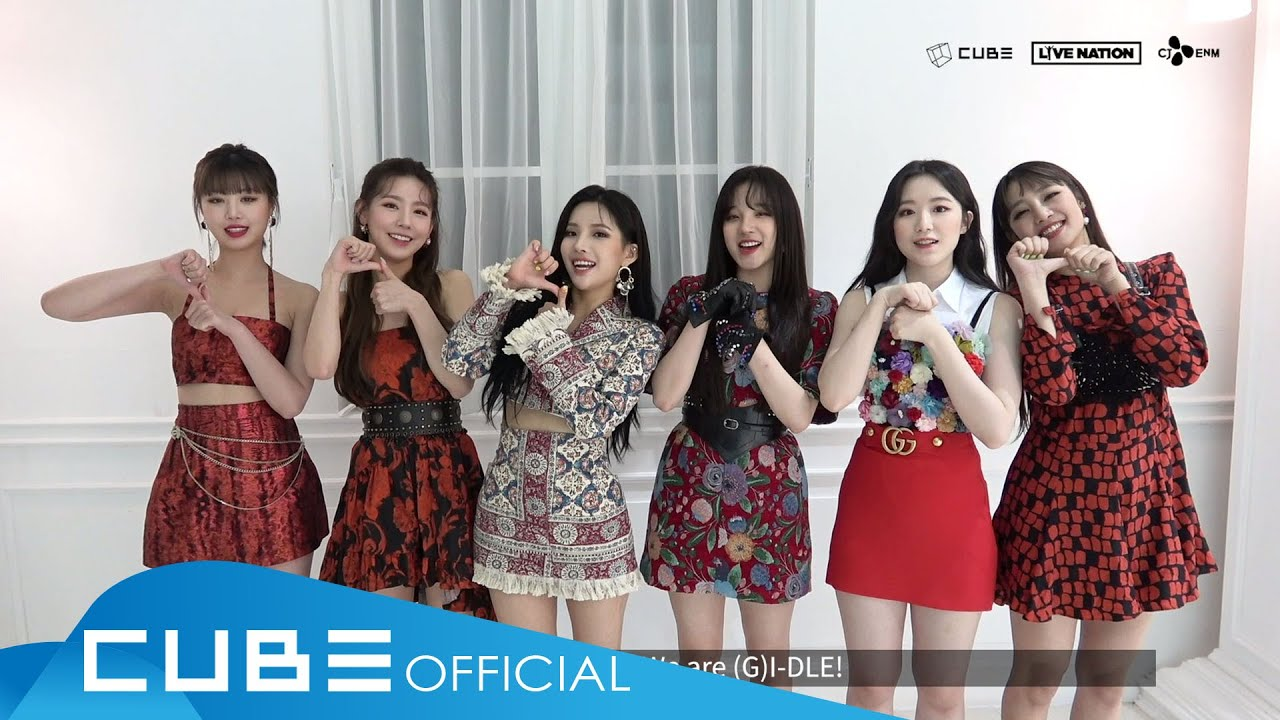 2020 (G)I-DLE ONLINE CONCERT 'I-LAND : WHO AM I' - ID (ENG)