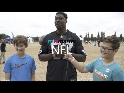 Minimasters interview stars of the NFL | Ticketmaster UK