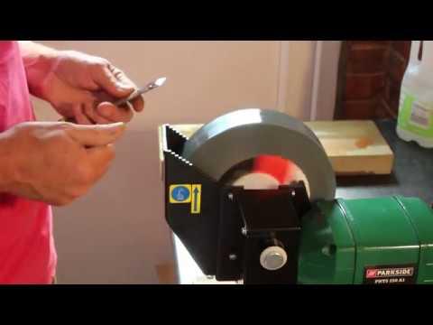 03 Diy Knife Sharpening And Bench Grinder Modification Doovi
