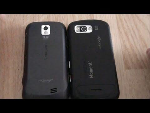 Samsung Intercept VS Samsung Moment