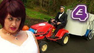 Bride NOT HAPPY With Makeshift Chariot?! | Don't Tell the Bride Ireland