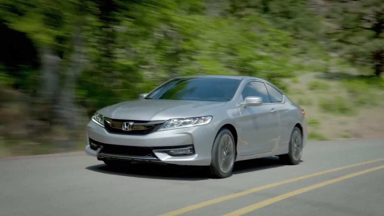 2016 honda accord coupe ex l v6 youtube. Black Bedroom Furniture Sets. Home Design Ideas
