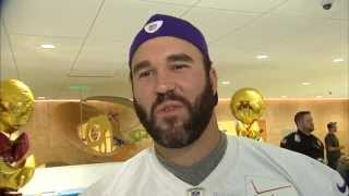 3 Halloween questions with Vikings C John Sullivan
