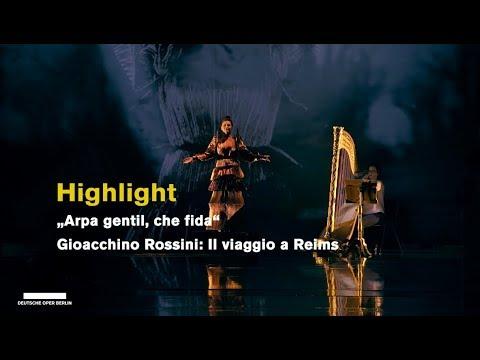 """""""Arpa gentil, che fida"""" sung by Elena Tsallagova, Deutsche Oper Berlin, 2018 (Highlights)"""