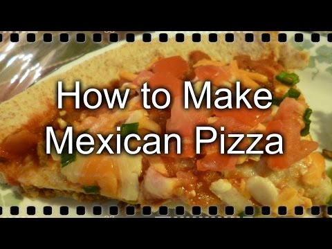 How to Make Mexican Pizza (With Homemade Refried Beans)