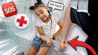 CALI BECAME MY DOCTOR AND SAVED ME 🤕🆘