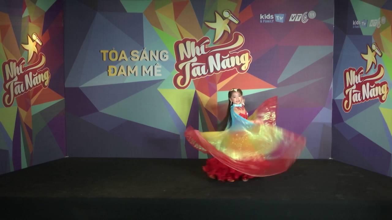 Belly Dance Kids - Phan Phạm Mai Trang [SBD 31] - Nhí Tài Năng 2016