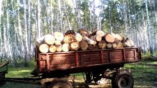 Як вимірювати кубатуру дров? Скільки кубів дров у возі 2птс4(старого зразка).