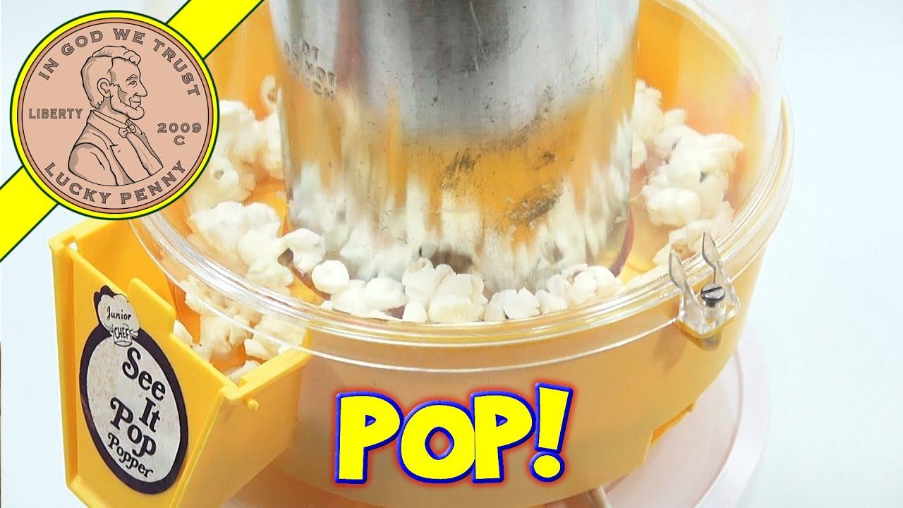Junior Chef See It Pop Popper, I Make A Popcorn Snack
