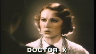 Doctor X Trailer 1932