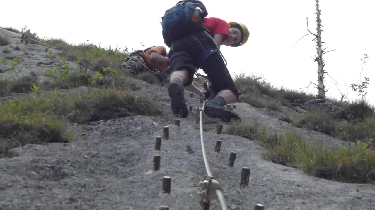 Klettersteig Mahdlgupf : Mahdlgupf klettersteig ausschnitt youtube