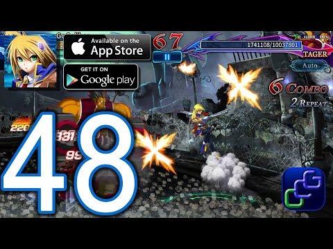 BLAZBLUE Revolution Reburning Android iOS Walkthrough - Part 48 - Chapter XI: Master Unit