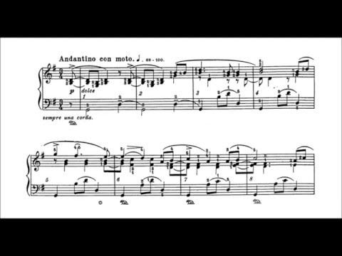 Brahms-Godowsky - Lullaby, piano solo version (audio + sheet music)