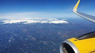Vueling A321 Paris Orly to Barcelona-El Prat *Full Flight*