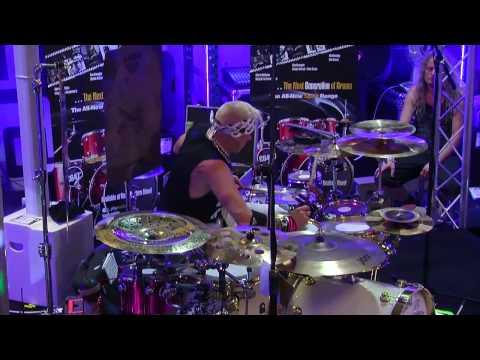 Robin Guy Natal Drum Clinic Part 1 at Nevada Music UK