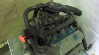 Двигатель контрактный на Skoda fabia AQW 1 4