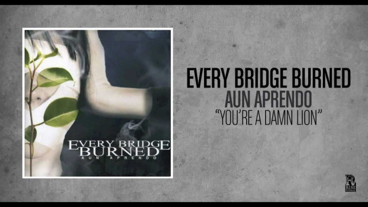 Every Bridge Burned - You're A Damn Lion