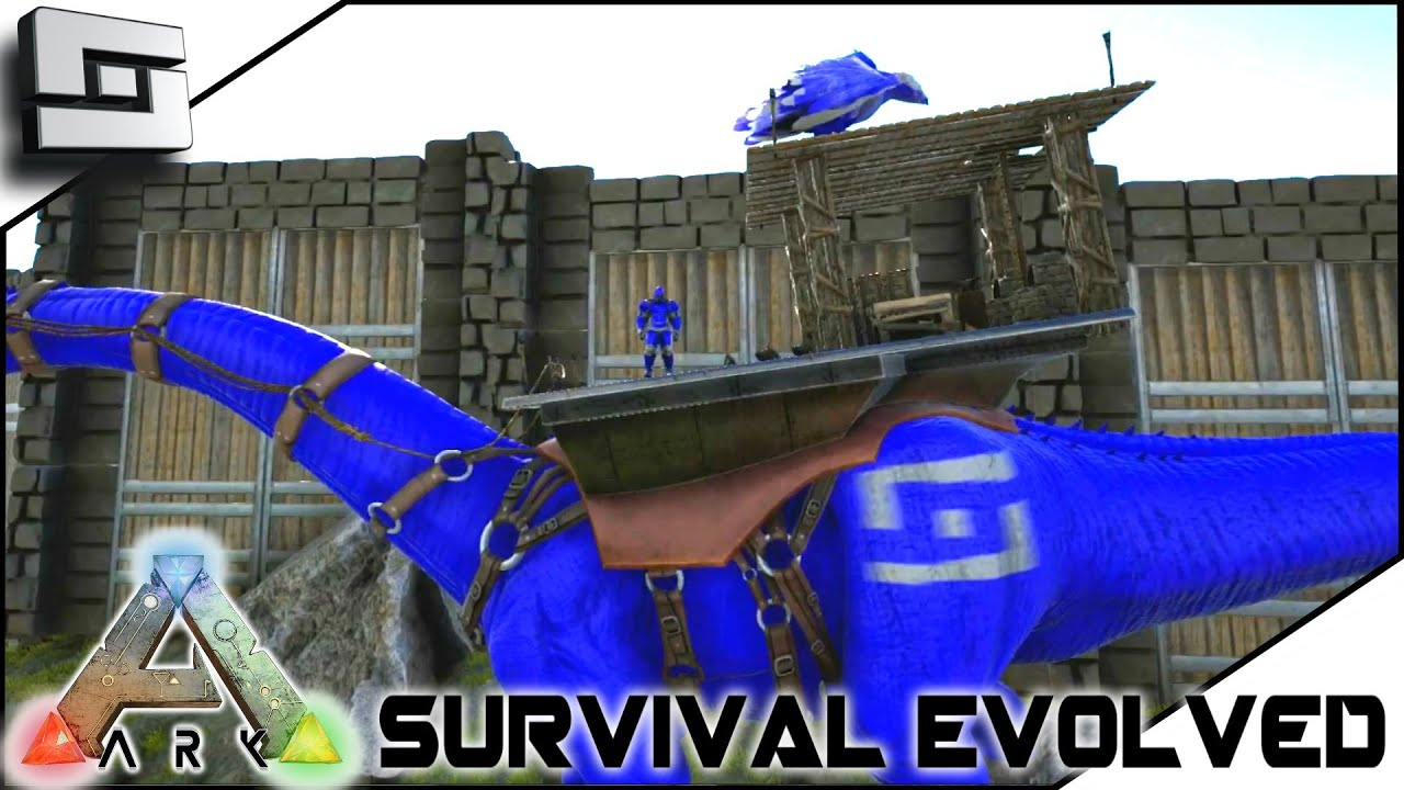 ark survival evolved new war paint s2e14 gameplay