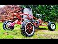 Kart Electrico Casero con Piezas de Patinetes ! +60kmh Mi Primer